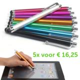 5 stylus pennen_