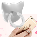 Smartphone Ring Houder/Stand zilver_