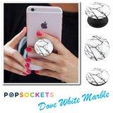 Popsocket  Dove White Marble_