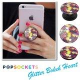 Popsocket  Glitter Bokeh Hearts_