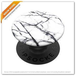 Popsocket  Dove White Marble